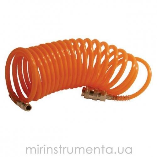 Шланг спиральный с быстроразъемным соединением INTERTOOL PT-1702