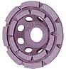 Шлифовальная алмазная чашка 125-22,2 двойной сегмент ж/ бетон