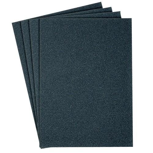 Шлифовальная шкурка на бумажной основе, водостойкая Klingspor PS8A Размер, мм: 230 x 280. Зерно: P 180 - P 600.