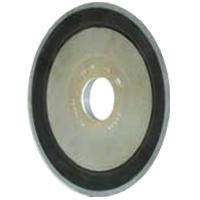 Шлифовальный круг тарельчатой формы для заточки пил. диаметр 150 мм.