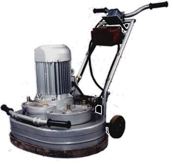 Шлифовально-мозаичная машина СО-199, для шлифования бетонных полов