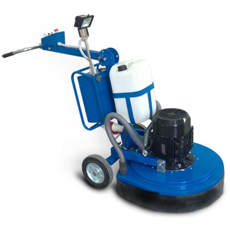 Шлифовально - полировальная машина планетарного действия на 4 быстросъемных шлифовальных дисках