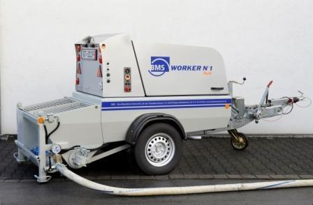 Шнековый насос для промышленных полов BMS Worker N 1 Fluid