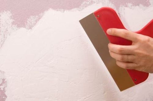 Шпаклевка покраска стен потолков