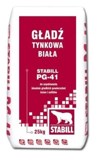 Шпаклевка Stabill PG-41 финишная 25кг