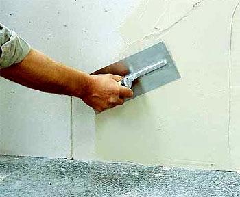 Шпаклевка стен, потолкa, штукатурка, оклейка обоями