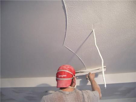 Шпаклёвка (потолок) м2 от 40грн 1 слой