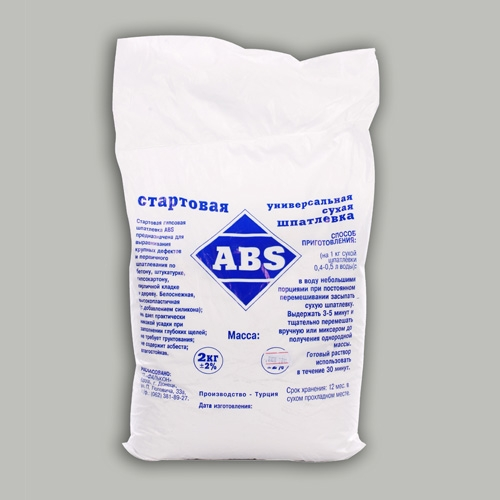 Шпатлевка ABS (старт) 30 кг.