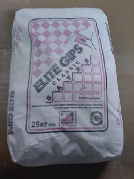 Шпатлевка ElitGips (сатен 25кг) Турция (бесплатаня доставка)