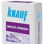 """Шпатлевка """"Мультифиниш&qu ot; (KNAUF Multi-finish) 25 кг."""