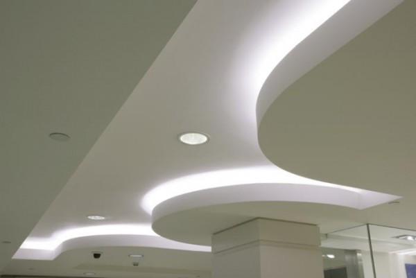 Шпатлевка потолка, 3 прохода