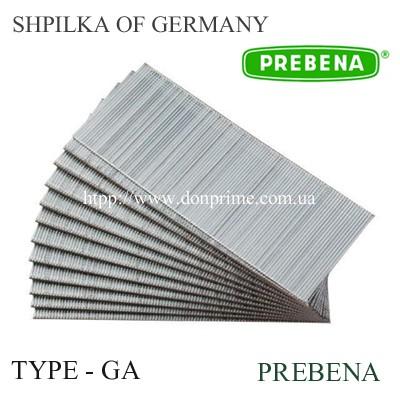 Шпилька для пневмопистолета Тип-GA (Prebena)