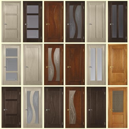 Шпонированные двери Терминус