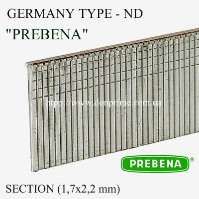 Штифт для пневмопистолета Тип-ND (Prebena)