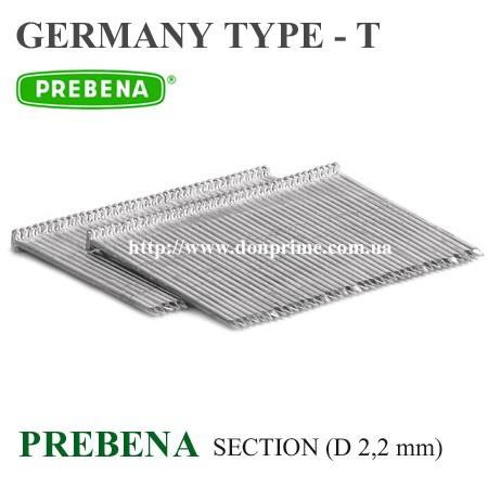 Штифт для пневмопистолета Тип-T (Prebena)