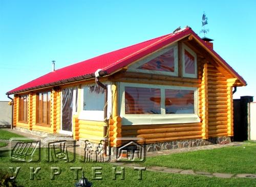 Шторы для деревянных домов, длязащиты от внешних осадков.