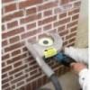 Штробление стен для монтажа электропроводки в кирпиче