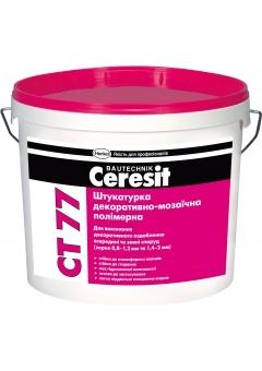 Штукатурка декоративно-мозаична я полимерная Ceresit CT 77