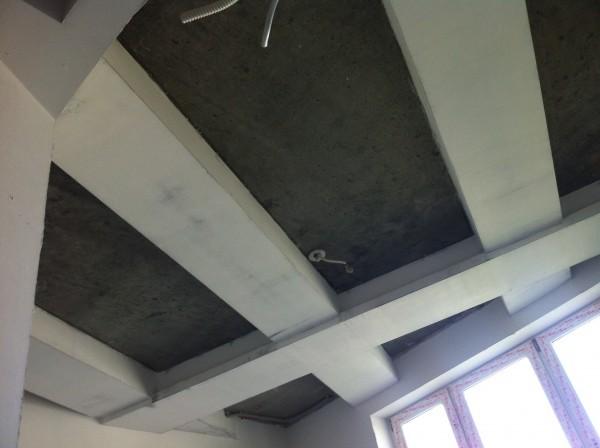 Штукатурка потолка до 3 см