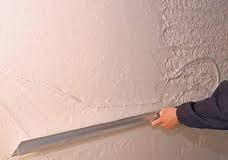 Штукатурка поверхностей известковым раствором простая: по камню и бетону стен