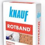 """Штукатурка """"Ротбанд"""" (KNAUF Rotband) 30 кг."""