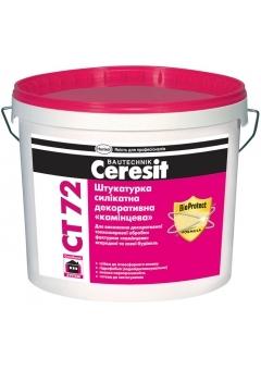 Штукатурка силикатная декоративная «камешковая» Ceresit CT 72