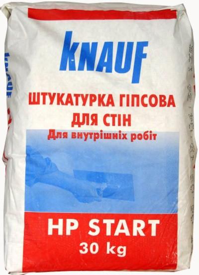 Штукатурка стартовая НР Start Knauf (30кг)