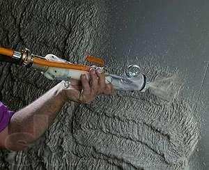 Штукатурка стен, гипсовя машинная штукатурка