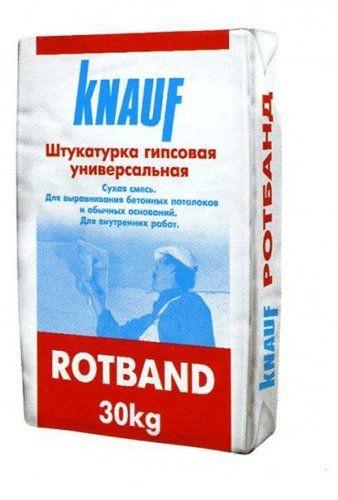 Штукатурная гладь Rotband Knauf (30кг)