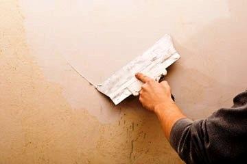 Штукатурные и малярные работы Покраска стен, беспещанка, багеты, стяжка пола