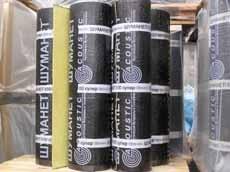Шуманет-100 Рулонный материал для звукоизоляции ударного шума