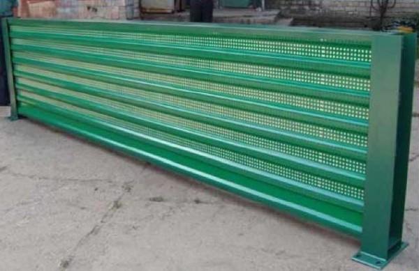 Шумопоглощающая панель. Шумозащитный забор. Цена от