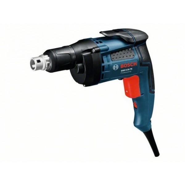 Шуруповерт с ограничителем глубины Bosch GSR 6-25 TE Professional