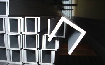 Швеллер алюминиевый 125х55х6,5мм, 8,5мм АД31Т, доставка по Украине.