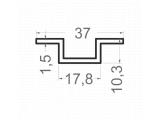 Фото  1 Шестигранник латунный ЛС59-1 Ф7х3000мм 2175113