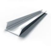 Швеллер алюминиевый от 25 до 80 АМГ5(6)