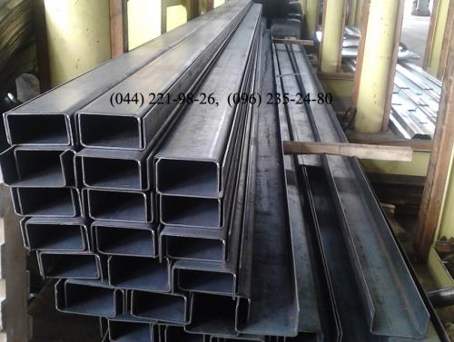 Швеллер гнутый 80х40х4 мм