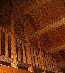 Силикатная окраска деревянных сегментных ферм