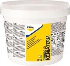 Силиконовый грунт. Вес: 25 кг. Грунт адгезионый KEMATERM GRUND 210 применяется под декаративную штукатурку.