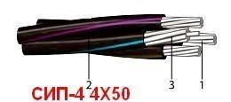 Силовой кабель СИП-4 4х50 мелкий и крупный опт! Всегда в наличии. Доставка по всей Украине!