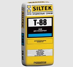 SILTEK Т-88 Для приклеивания изделий на основе гипсовых вяжущих