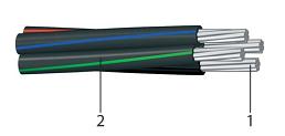 СИП 2Х10 - провод самонесущий