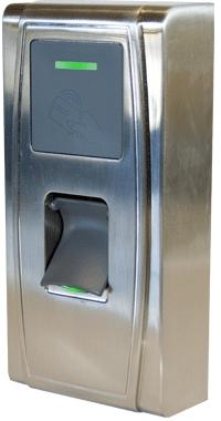 Система контроля доступа по отпечатку пальца, биометрический терминал ZKTeco MA300.