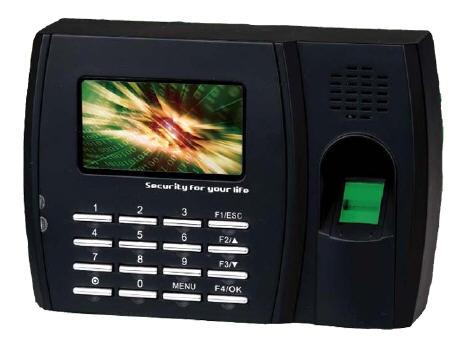 Система контроля рабочего времени. Биометрический терминал по отпечатку пальца ZKTeco U300-C.