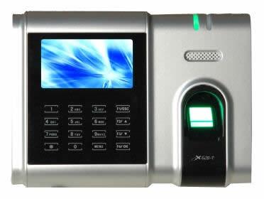 Система контроля учета рабочего времени. Терминал по отпечатку пальца X628-TC.