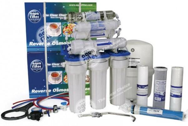 Система обратного осмоса FRO5JGMP с минерализатором и повышающим насосом