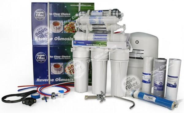 Система обратного осмоса FRO8JGMP с минерализатором, биокерамикой и повышающим насосом