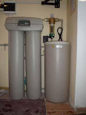 Система очистки воды согласно СЕС