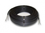Системы снеготаяния и системы антиобледенения крыш безмуфтовый двужильный кабель  17Вт/м  BR-IM-Z Hemstedt-34,7 600W