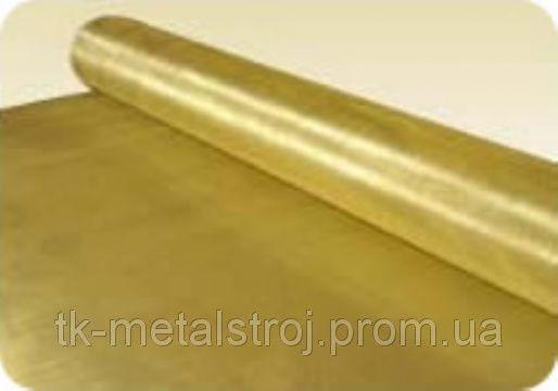Сітка тканинна латунна Л- 80 0,8 х0 , 8х0 , 55
